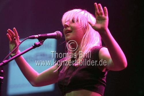 Kanadische New-Wave-Band Austra beim Electronic Beats Festival im E-Werk Köln (© Thomas Brill)