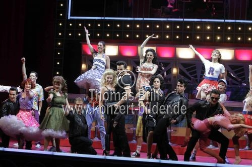 GREASE – Das Musical gastiert vom 18. November 2010 bis 12. Februar 2011 im Capitol Theater Düsseldorf (© Thomas Brill)