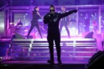 Amerikanische Hip-Hop Band The Black Eyed Peas auf