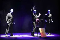 Blue Man Group - The Only Show As Colourful As Life! gastiert vom 29. November bis 17. Dezember 2017 im Musical Dome Köln (© Thomas Brill)