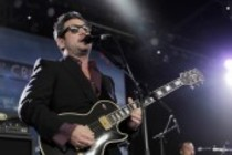 Amerikanische Alternative-Rock-Band Fun Lovin Criminals gastiert auf ihrer