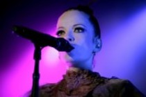 Internationale Rockgruppe Garbage gastiert auf ihrer