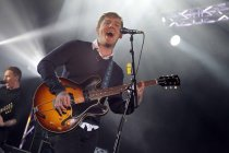 Amerikanische Punk/Indie/Alternative-Rock-Band The Gaslight Anthem gastierten auf ihrer