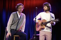 "Norwegisches Indie-Pop-Duo Kings Of Convenience gastiert auf ihrer ""The Unrecorded Record""-Tour in der Kulturkirche Köln (© Thomas Brill)"