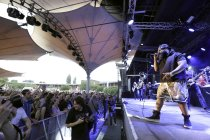Amerikanische Hip-Hop-Band The Roots gastiert Open Air am Tanzbrunnen Köln (© Thomas Brill)